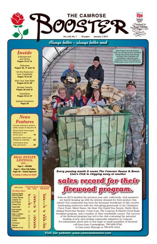 The camrose booster january 7 2014 by the camrose booster issuu page 1 publicscrutiny Image collections