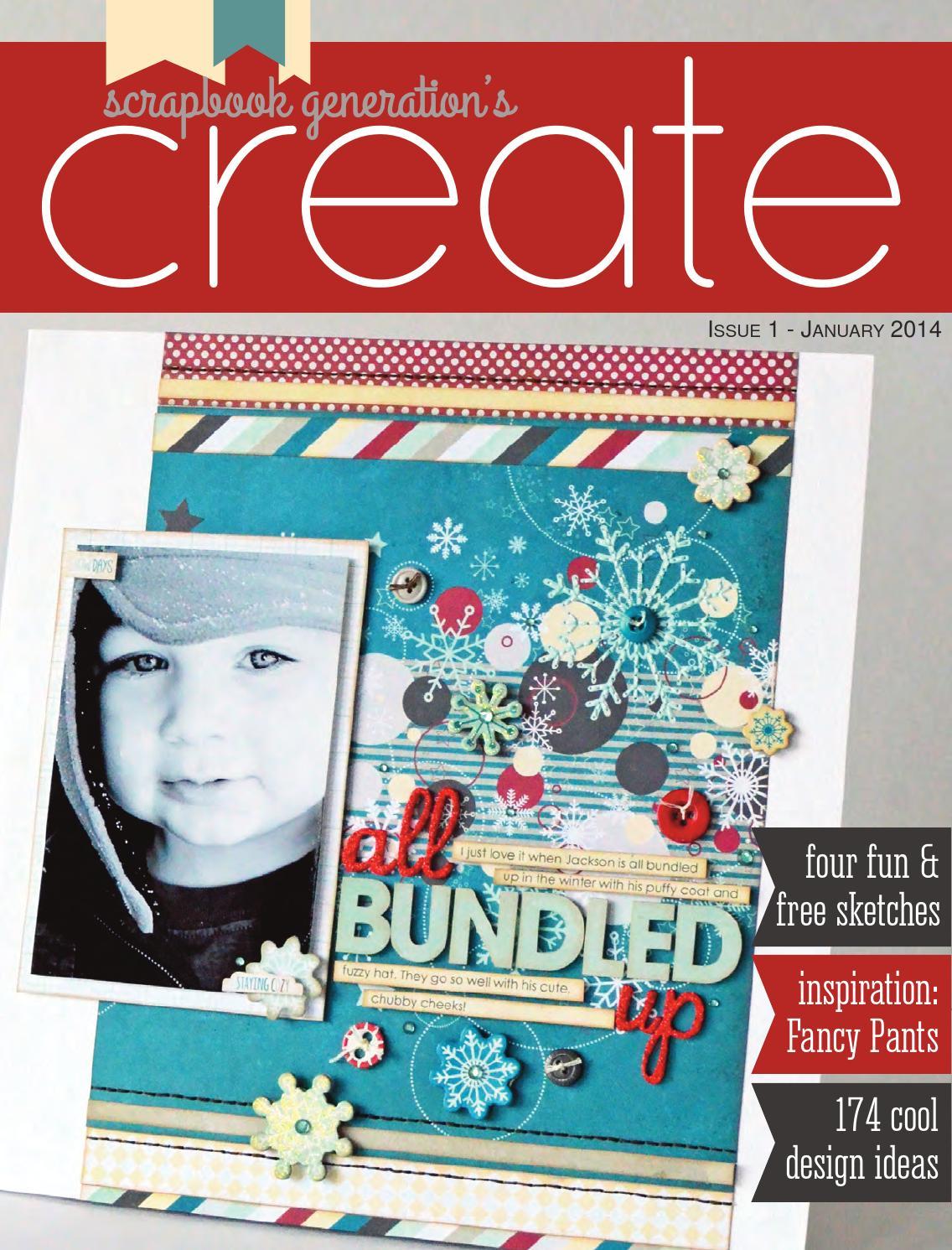 How to scrapbook magazines - How To Scrapbook Magazines 68