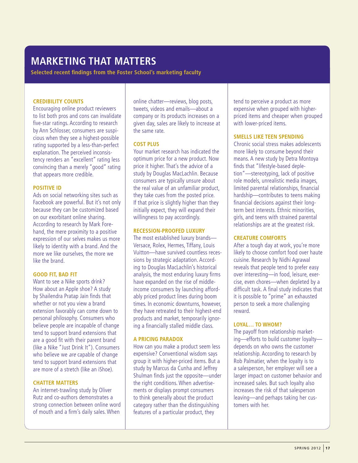 f96015908613 Foster Business Magazine Spring 2012 by University of Washington Foster  School of Business - issuu