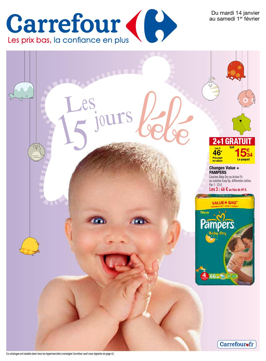 couverture bébé carrefour Catalogue Carrefour   14.01 1.02.2014 by joe monroe   issuu couverture bébé carrefour