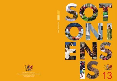 126220 1 sotoniensis 2013 cover final lr by King Edward VI School