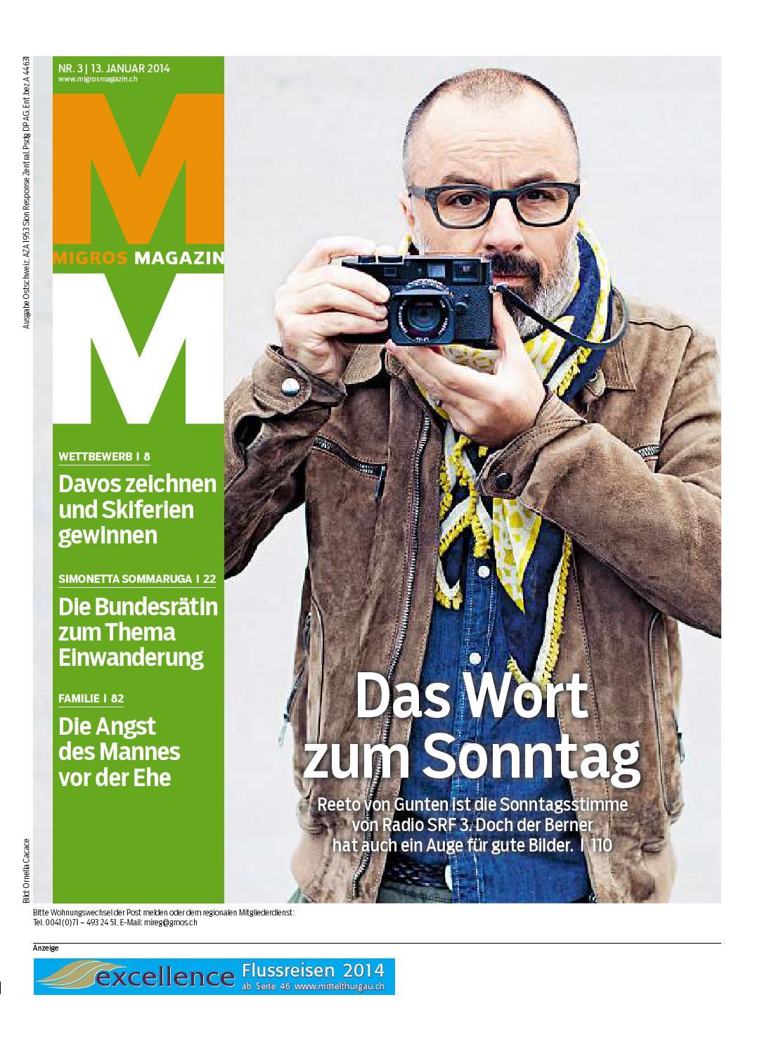 Migros magazin 03 2014 d os by Migros-Genossenschafts-Bund - issuu