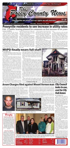 january 14 2014 the posey county news by the posey county news rh issuu com