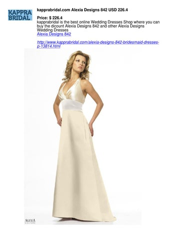 7ae07e67b63e0 Kapprabridal com alexia designs 842 bridesmaid dresses by Theresa ...