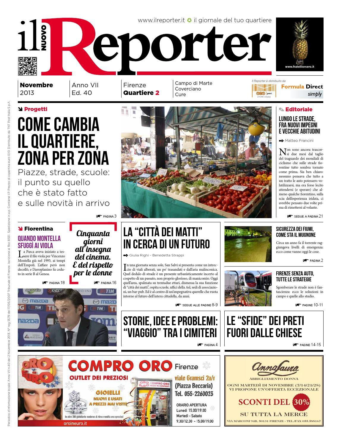 062d149f07b7c6 Il Reporter Q2 - Novembre 2013 by Il Reporter - issuu