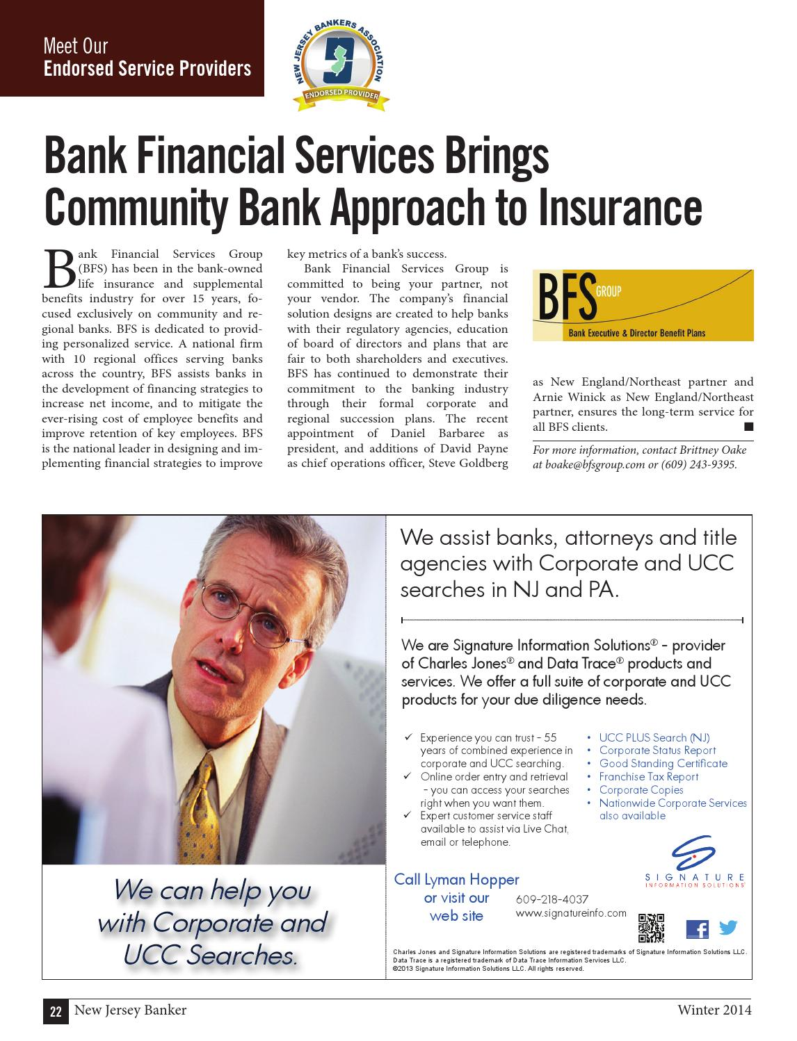 New jersey banker winter 2014 by the warren group issuu 1betcityfo Choice Image