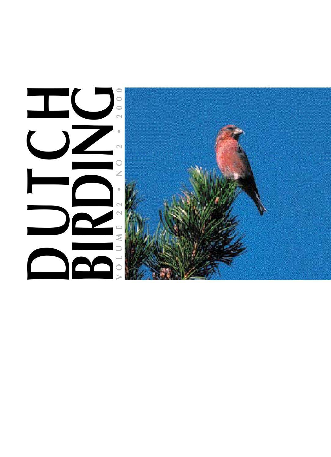 Db 22(2)2000 by DutchBirding - issuu