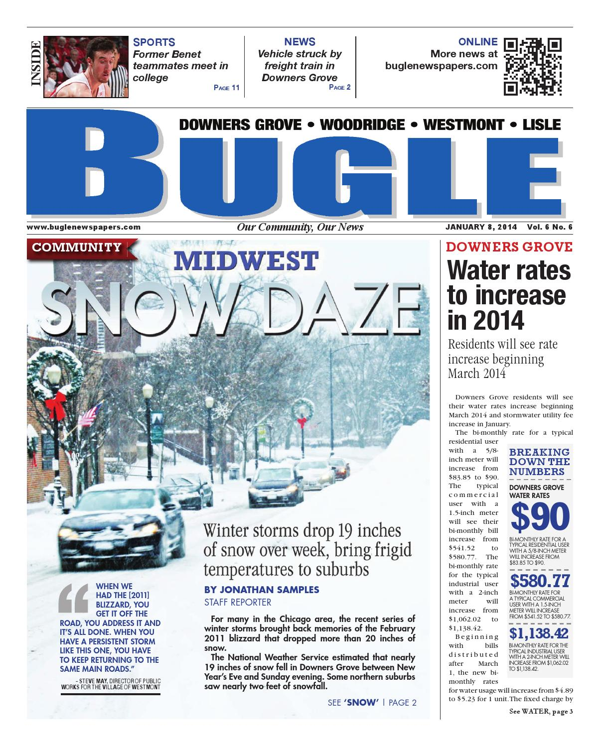 Downers Grove 01-08-14 by Bugle, Sentinel & Enterprise