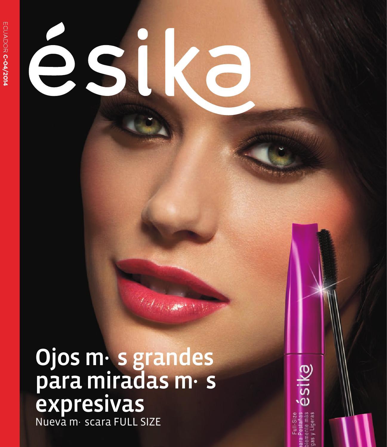 Catálogo ésika Ecuador C04