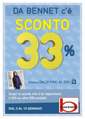 Volantino Bennet dal 2 al 15 gennaio 2014 by VolantinoFacile.it - issuu 4029d4b9fac8