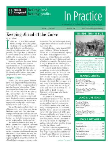 106, In Practice, Mar/Apr 2006 by HMI - Holistic Management