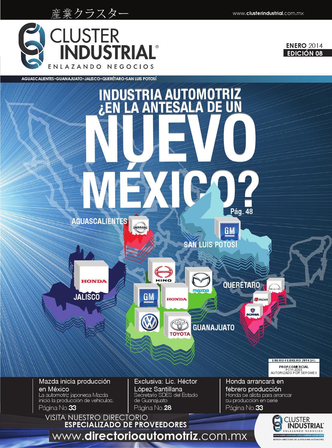 Edición 08: Enero-Febrero 2014 by Cluster Industrial - issuu