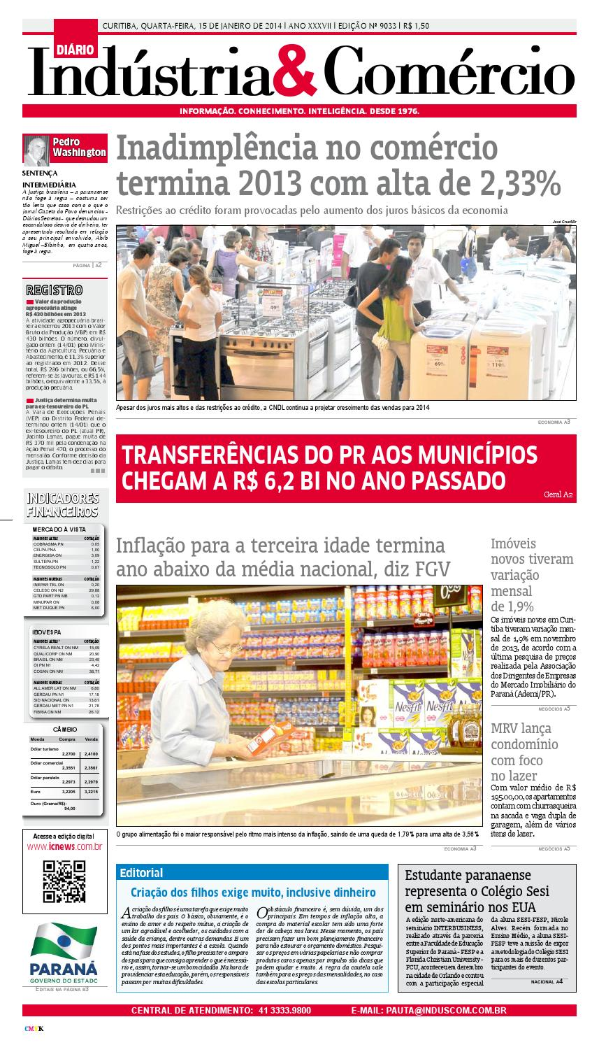 56de74a7474 Diário Indústria Comércio by Diário Indústria   Comércio - issuu