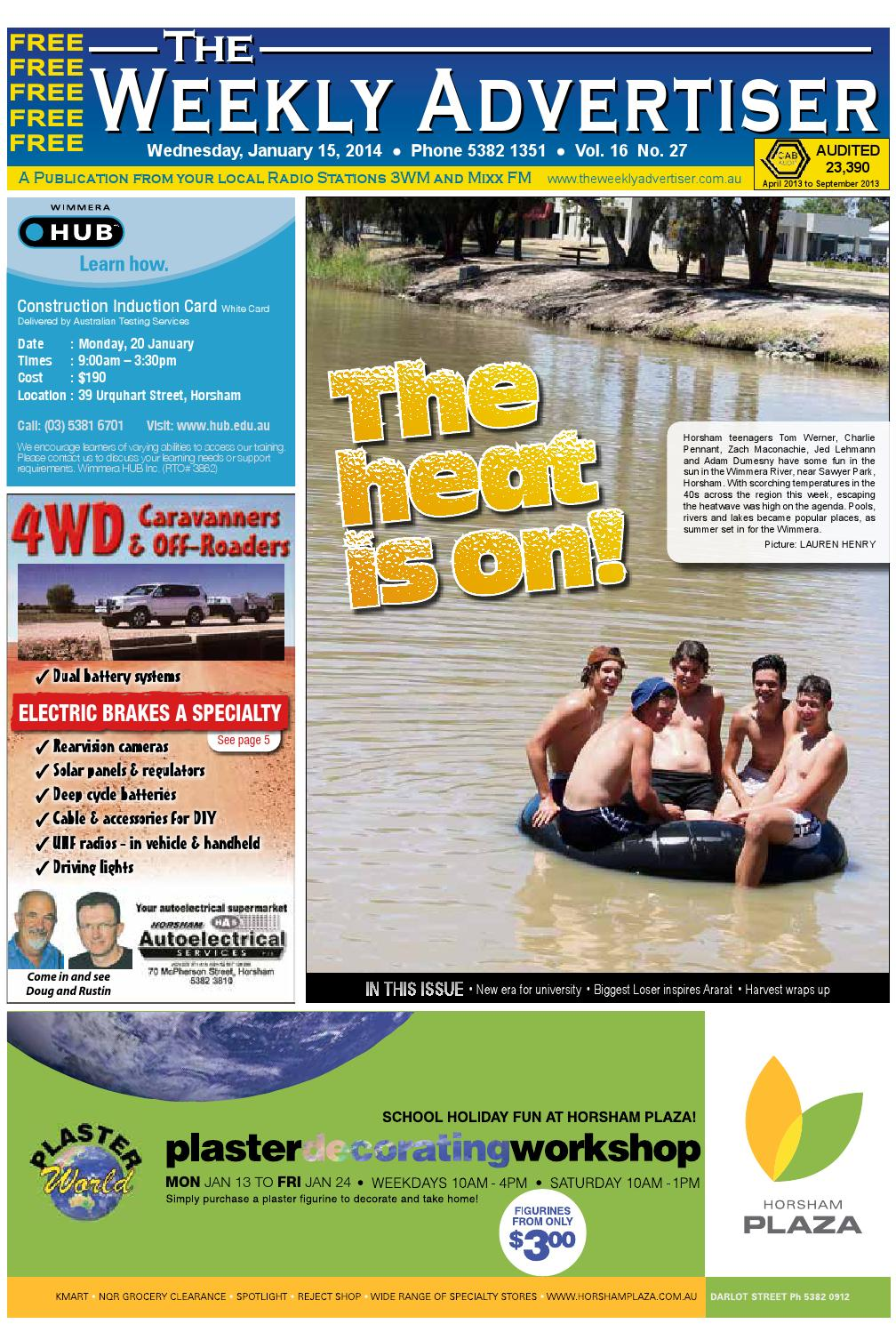 hot sale online ae367 40134 The Weekly Advertiser - Wednesday, January 15, 2014