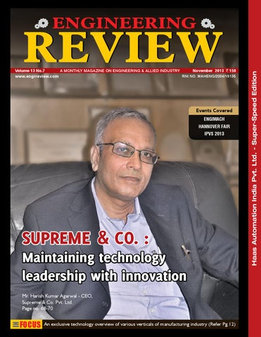 8d6ca2c915 Engineering Review November 2013 by Divya Media Publications Pvt ...