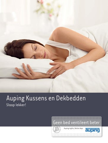 Auping Kussen Breeze Latex.Auping Hoofdkussens En Dekbedden By Varia Passie Voor Slapen By