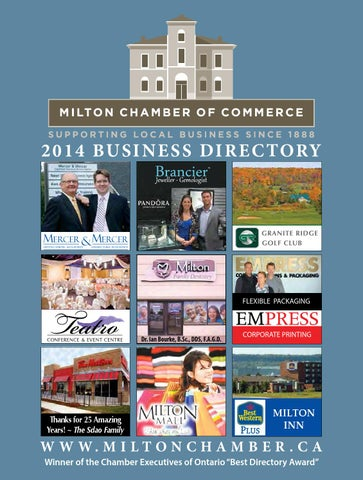 Milton Chamber Of Commerce Business Directory By Milton Chamber Of