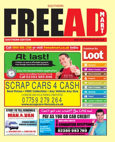 Free ad mart southern 7th january 2014 by loot issuu page 1 fandeluxe Choice Image