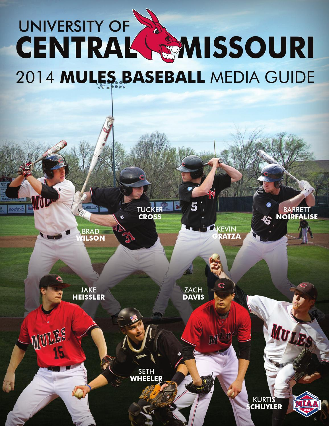 2014 Central Missouri Mules Baseball Media Guide by UCM ...