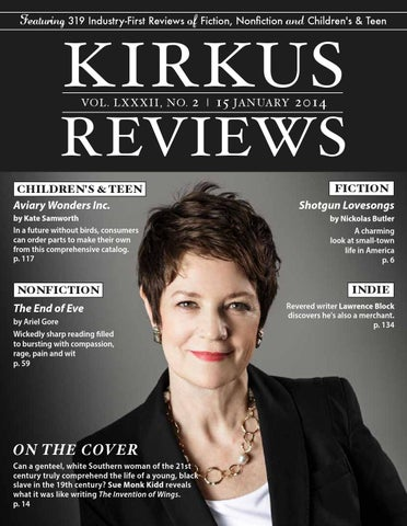 January 15 2014 Volume Lxxxii No 2 By Kirkus Reviews Issuu