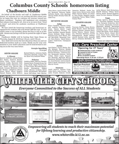 Back to School 8/2013 by The News Reporter - issuu