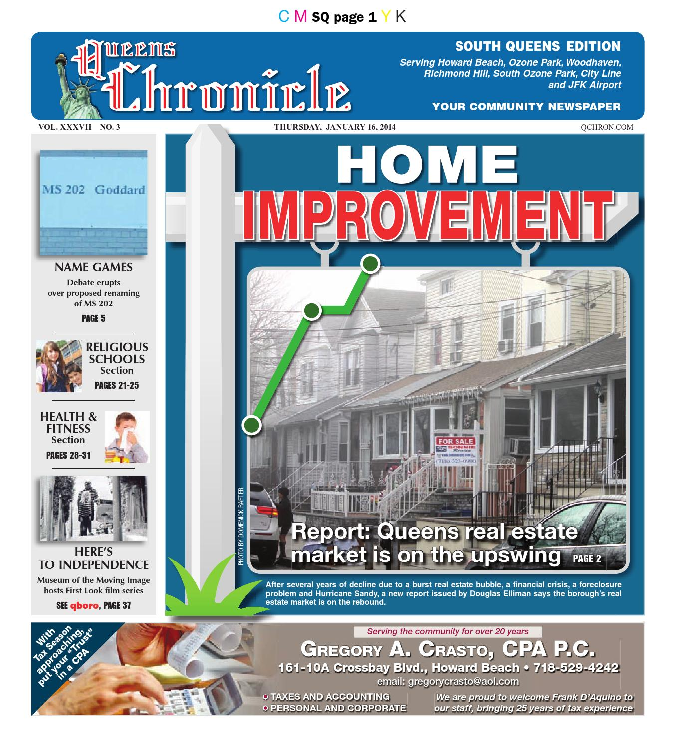 Queens Chronicle South Edition 01 16 14 by Queens Chronicle issuu