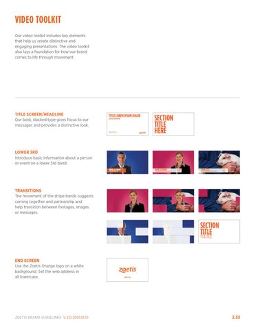 Zoetis brand guidelines january 2013 by Ray Bar - issuu