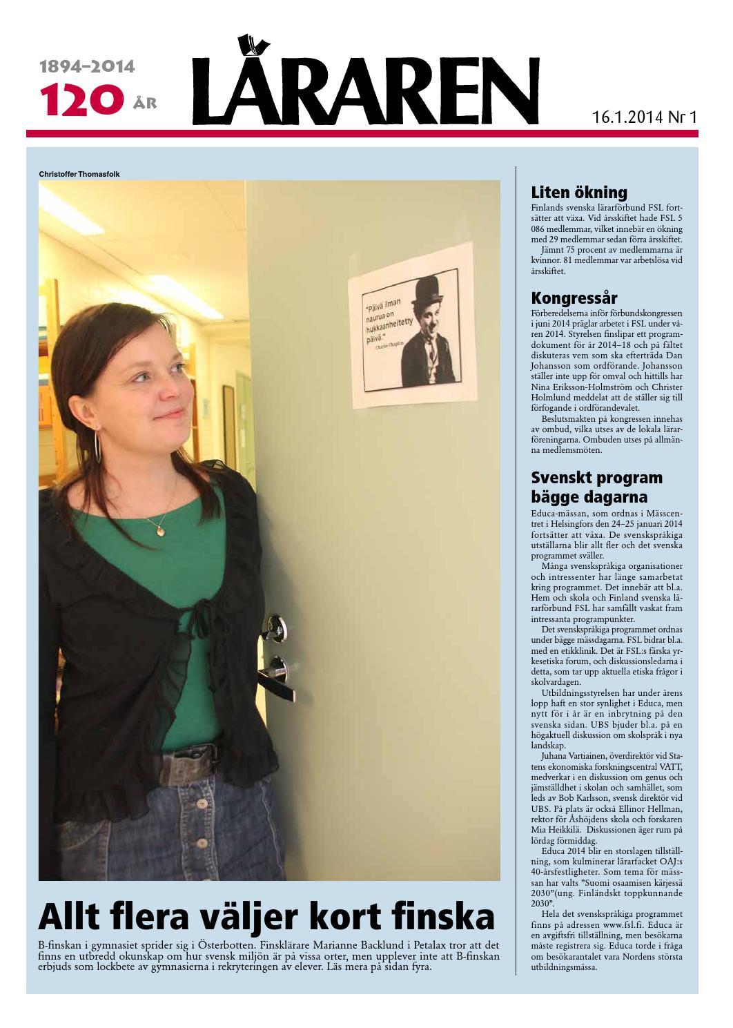 Dejta ensamstående kvinna i finland