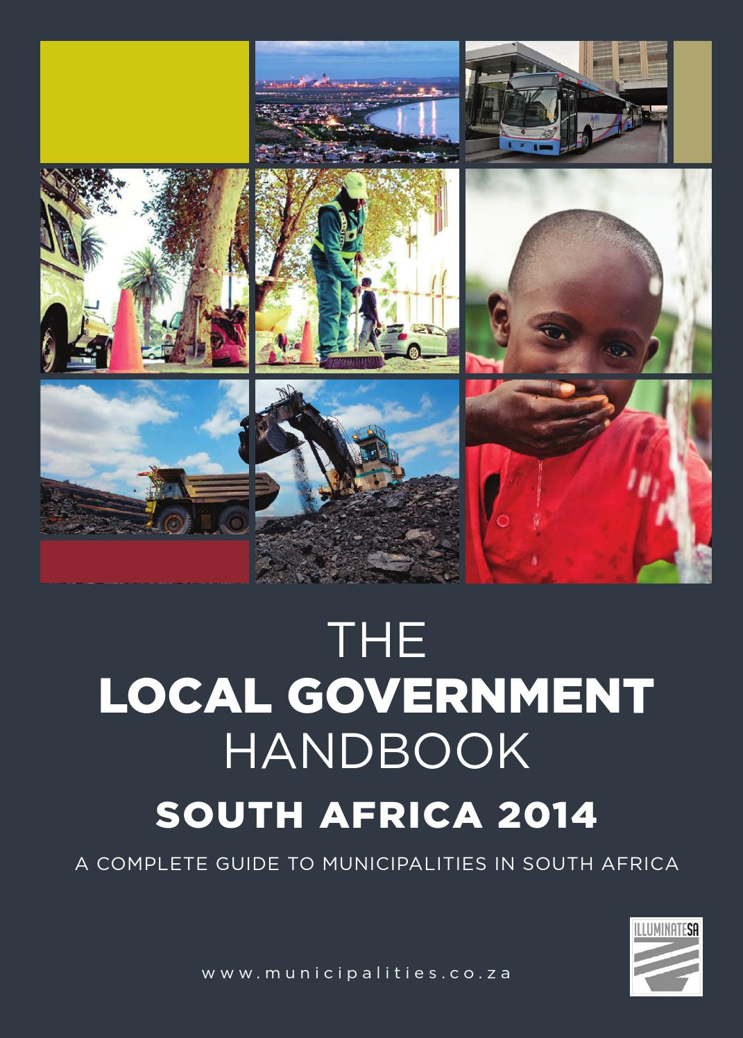 Local Government Handbook - South Africa 2014 by Yes Media