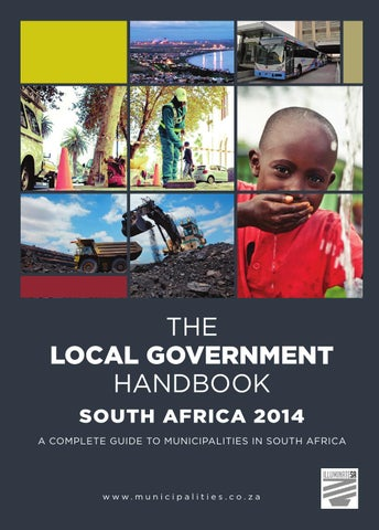 Local government handbook south africa 2014 by yes media issuu the local government handbook south africa 2014 fourth edition municipalities fandeluxe Gallery