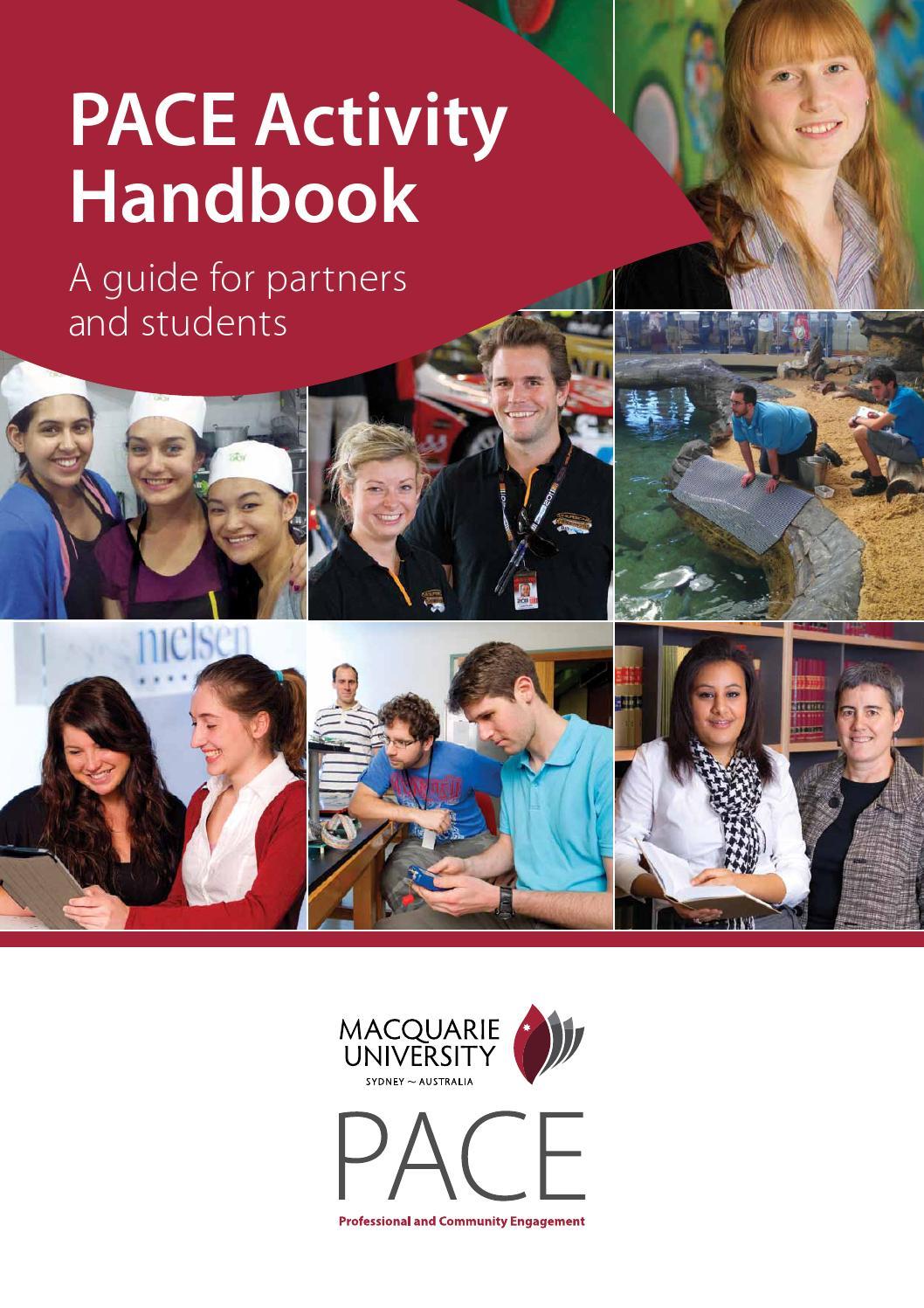 macquarie university student handbook