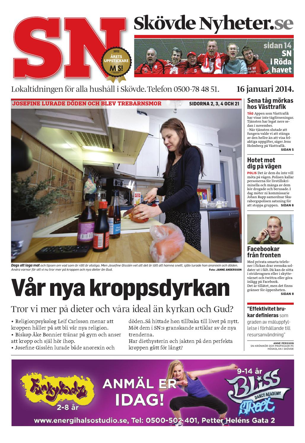 Sn 14 01 16 by Skövde Nyheter - issuu e4a8d57ea8ea0