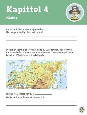 måle km på kart Tm4b blabok by Cappelen Damm   issuu måle km på kart