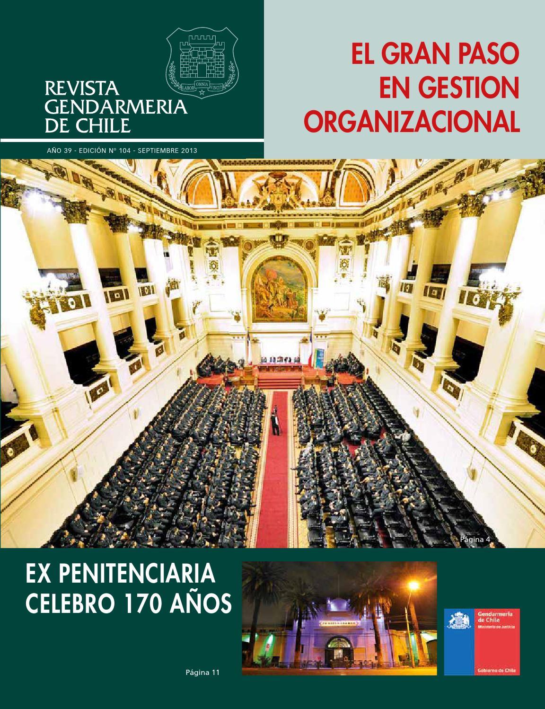 Revista institucional by gendarmer a de chile issuu - Cuidados del magnolio ...