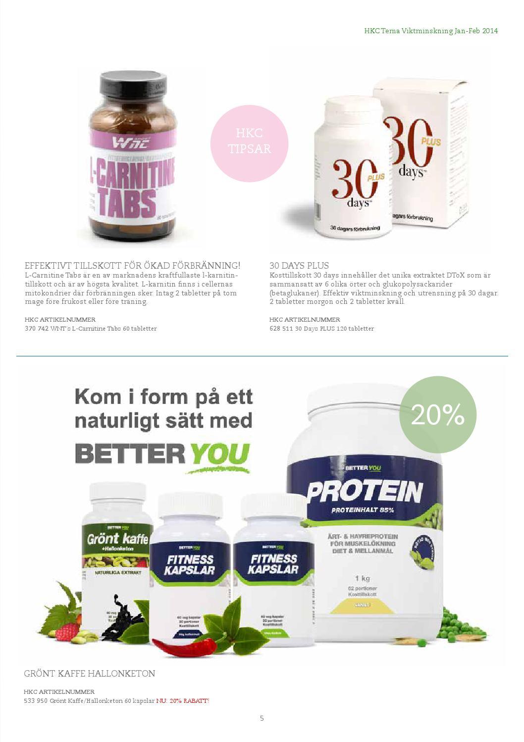 30 days viktminskning