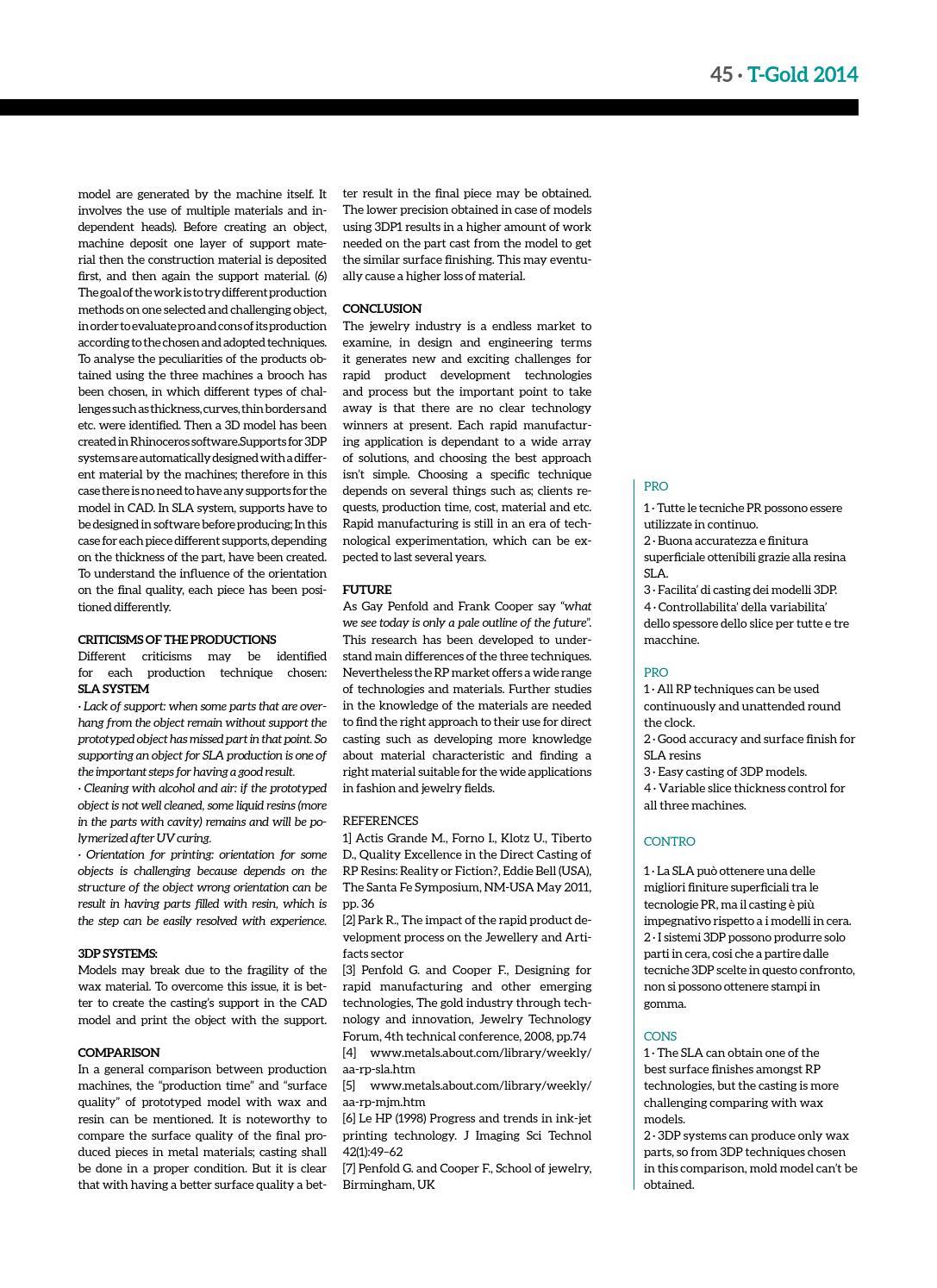 T-GOLD Magazine 2014 by Fiera di Vicenza - issuu