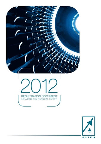 2012 alten annual report by alten publications issuu