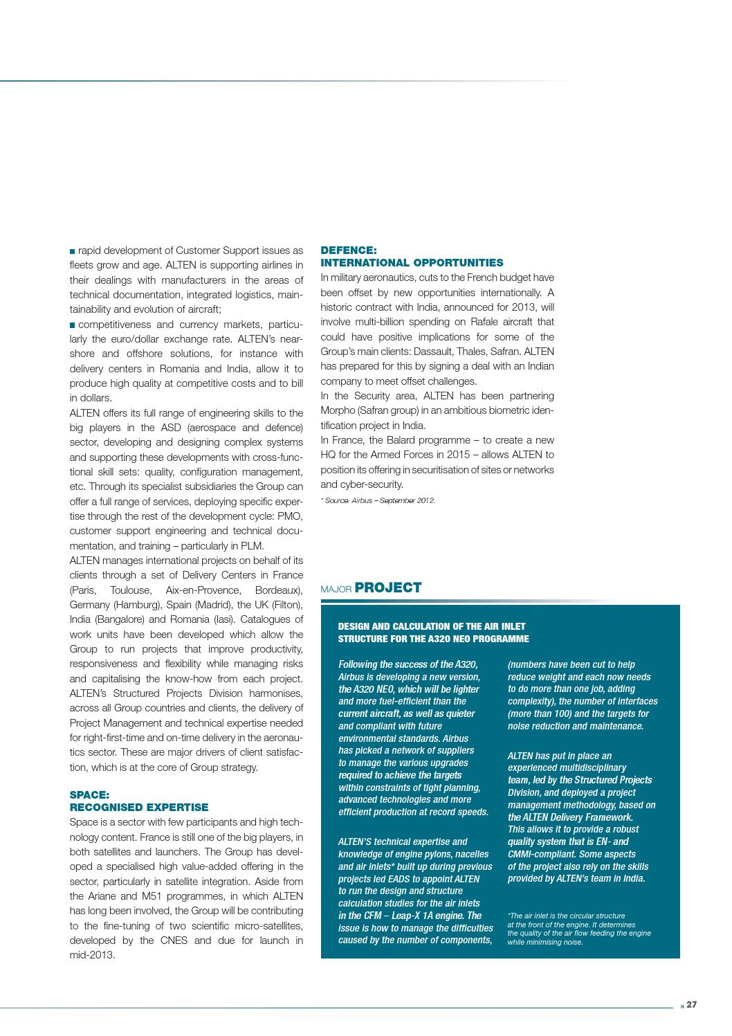 2012 ALTEN annual report by ALTEN_Publications - issuu