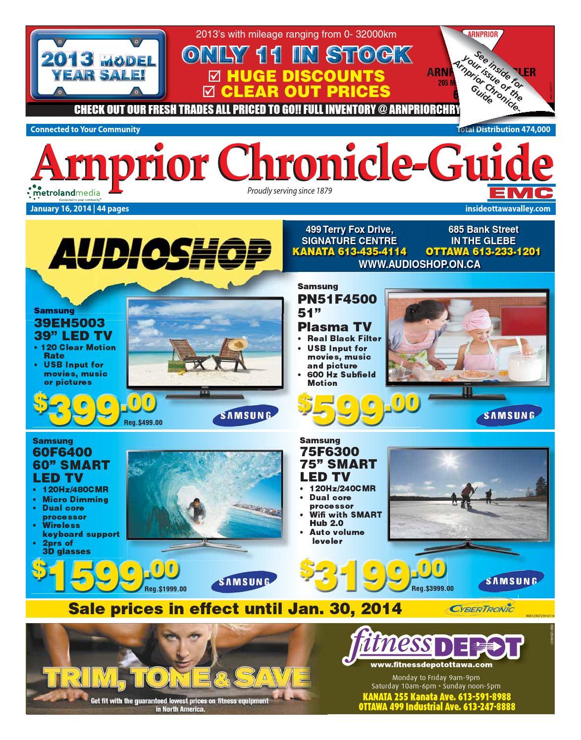 Arnprior011614 by Metroland East - Arnprior Chronicle-Guide - issuu