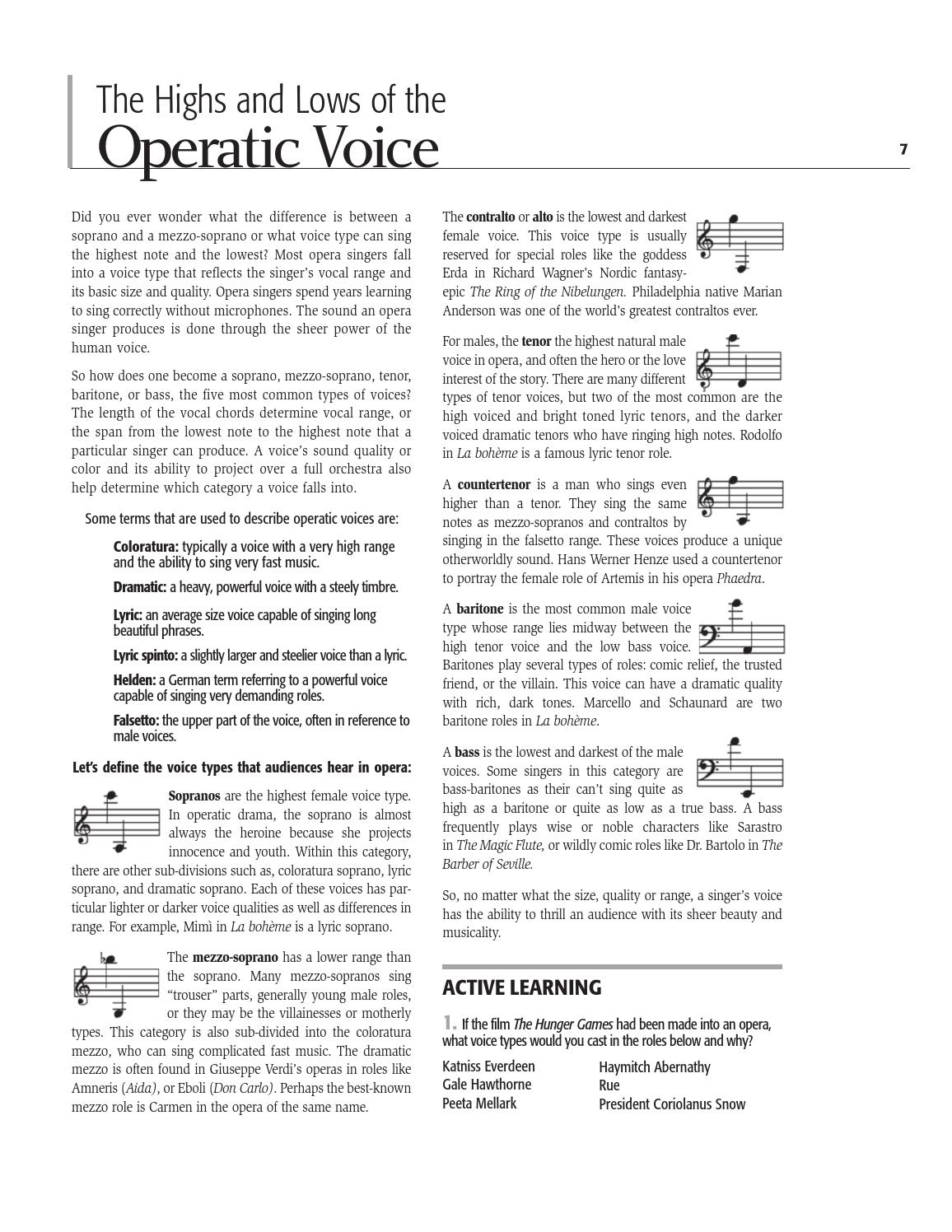 LA BOHEME Student Guide 2012 | Opera Company of Philadelphia by