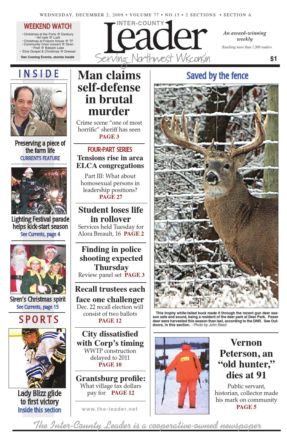 Leader|dec 2|2009 By Inter County Leader   Issuu