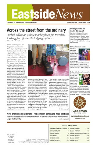 Solstice Swirl At Olbrich Botanical >> Eastside News May Jun 2013 By Eastside News Issuu