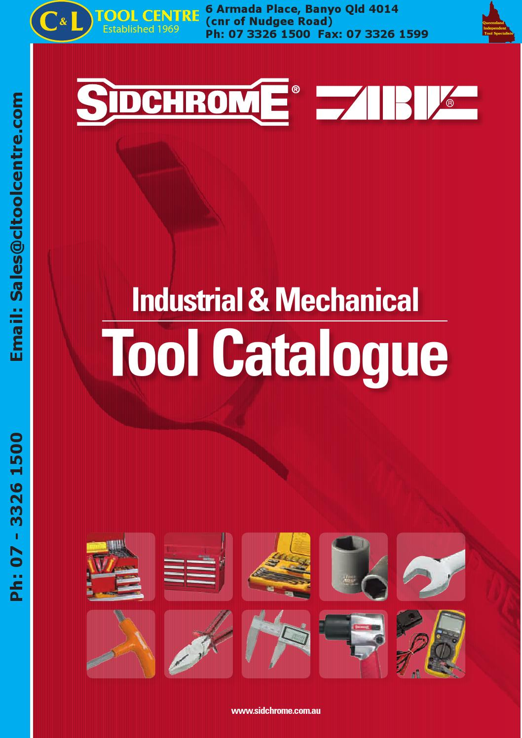 Sidchrome Abw Catalogue By Cl Tool Centre Pty Ltd Issuu 70450 Swag Light Hook Kit Brass Finish Buy Lamp Wiring