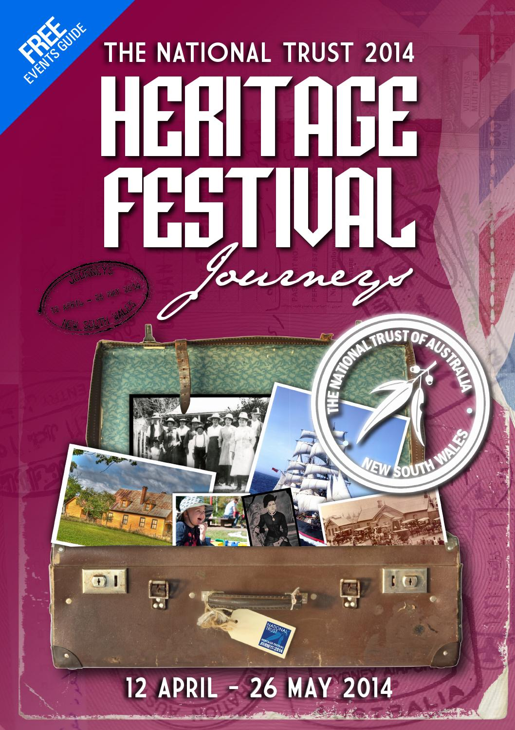 National Trust (NSW) 2014 Heritage Festival Guide by
