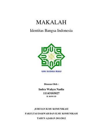 Makalah Kewarganegaraan By Indra Wahyu Nadia Issuu