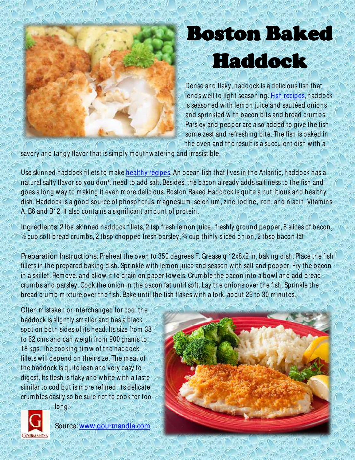 Healthy Way To Cook Haddock Fillets