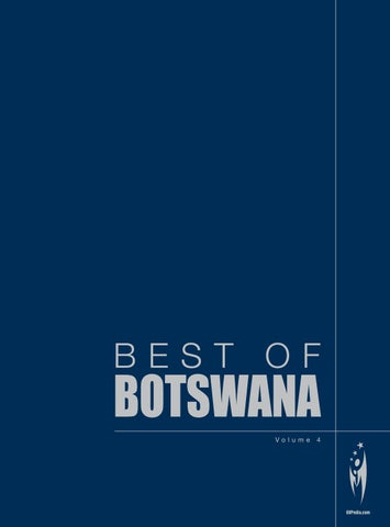 BEST OF BOTSWANA Volume 4 By Sven Boermeester Issuu