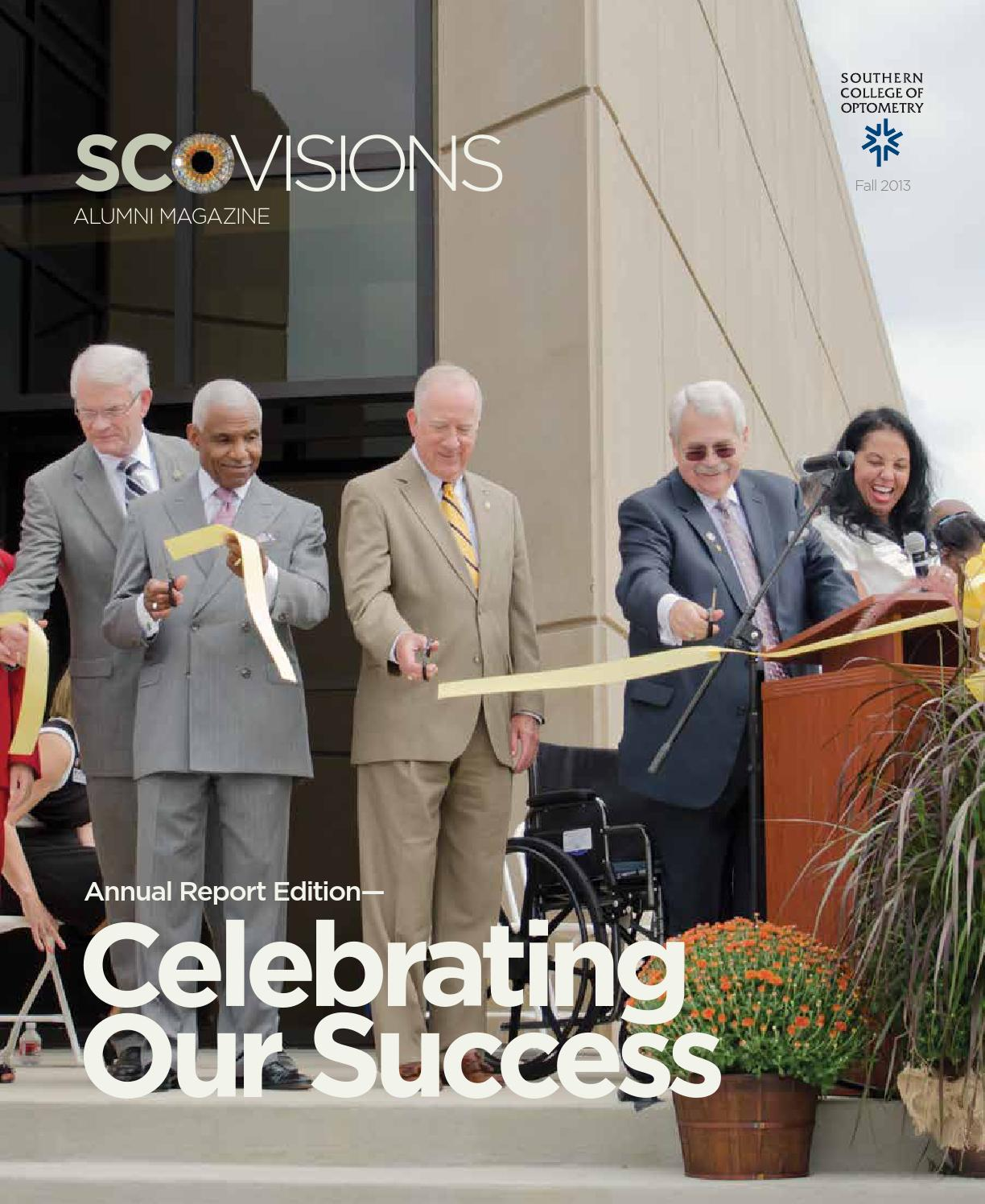 visions alumni magazine - fall 2013 - southern college of