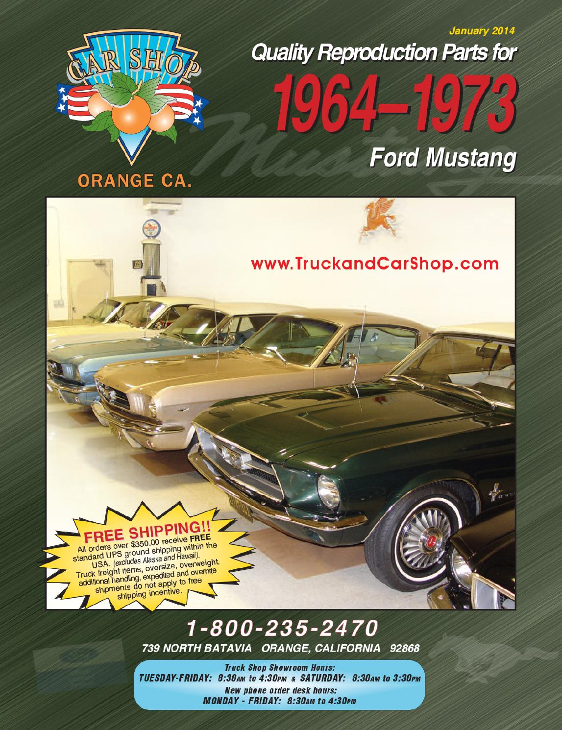 Mustang Cat Web 14 By Truck Car Shop Issuu 1978 Chevy Camaro Door Latchsomeone Has A Diagramrods20 Minutes