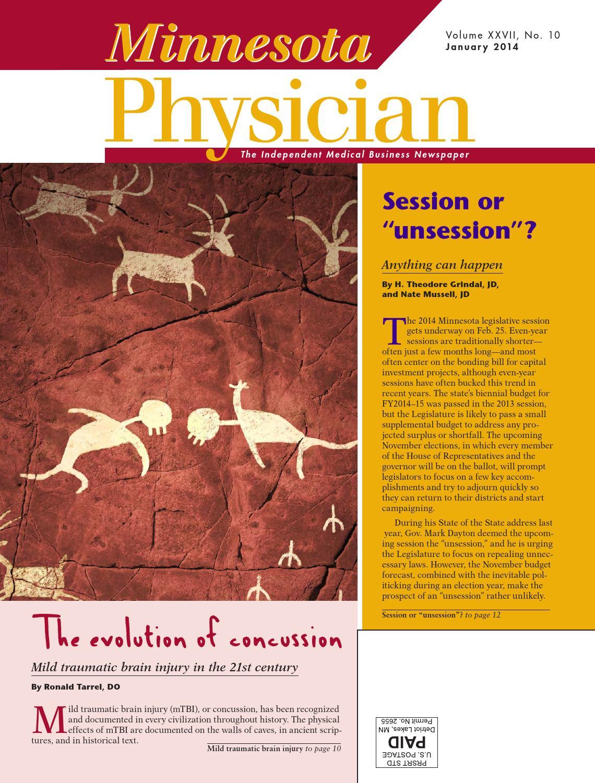Minnesota Physician January 2014 by Minnesota Physician Publishing - issuu